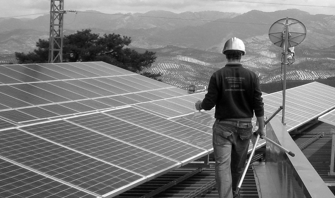 Instalaci n solar fotovoltaica en cubierta cazorla ja n for Instalacion fotovoltaica conectada a red